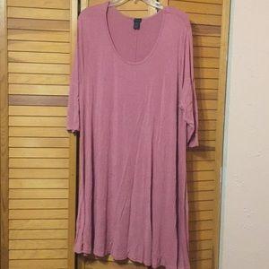 Rue 21 3XL Skater dress w/ long sleeves